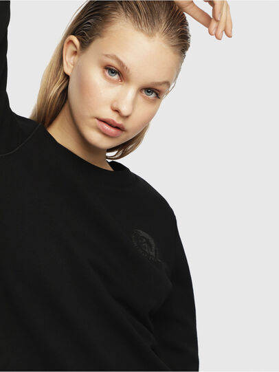 Diesel - UFLT-WILLA, Noir - Pull Cotton - Image 3