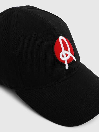 Diesel - LR-CAP, Noir - Chapeaux - Image 4