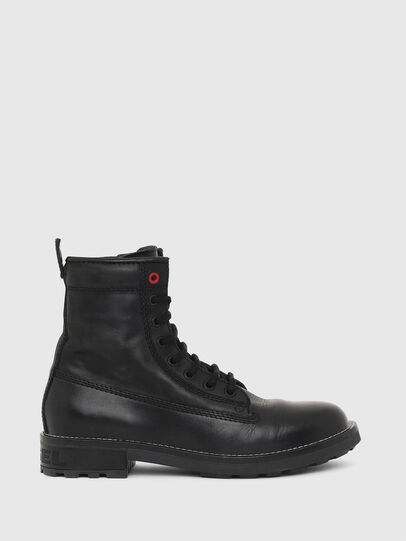 Diesel - D-THROUPER DBB W Z, Noir - Bottines - Image 1