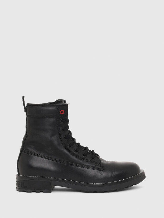 D-THROUPER DBB W Z, Noir - Bottines