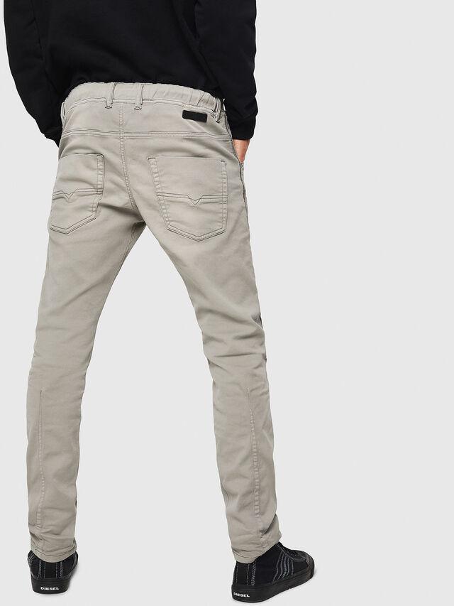 Diesel - Krooley JoggJeans 0670M, Gris Clair - Jeans - Image 2