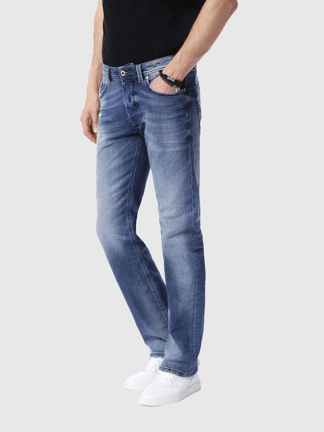 Diesel - Larkee 0853P, Bleu Clair - Jeans - Image 4