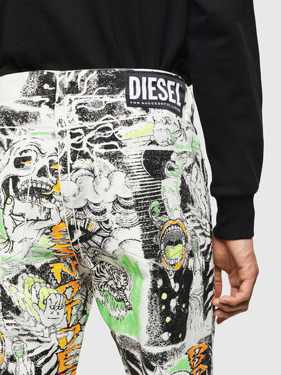 Diesel - D-Macs 069KS, Blanc - Jeans - Image 3