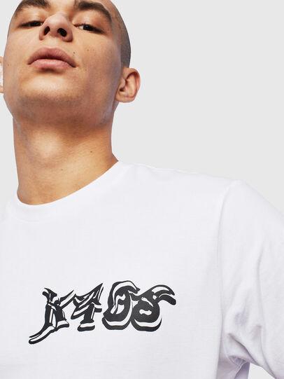Diesel - T-JUST-T31, Blanc - T-Shirts - Image 3