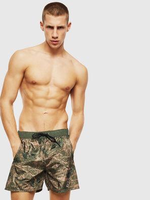 BMOWT-DORSAL, Vert Camouflage - Boxers de bain