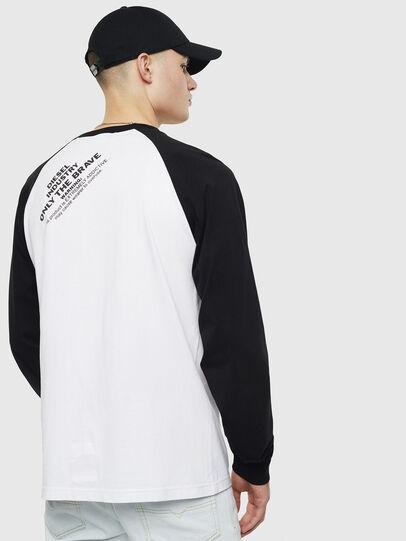 Diesel - T-RODDI, Blanc/Noir - T-Shirts - Image 2