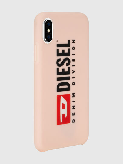 Diesel - DIESEL PRINTED CO-MOLD CASE FOR IPHONE XS & IPHONE X, Rose Poudré - Coques - Image 5