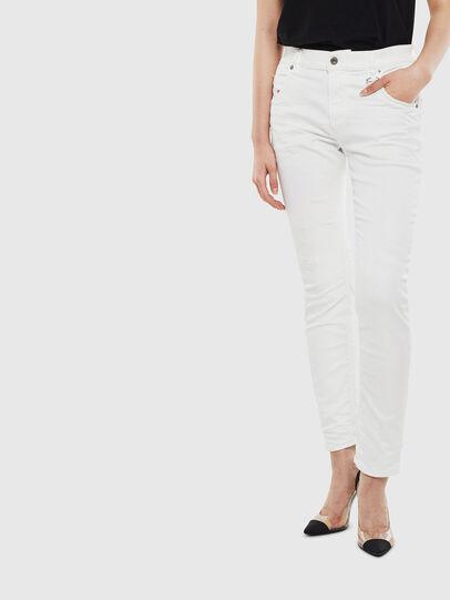Diesel - Krailey JoggJeans 069DS, Blanc - Jeans - Image 1