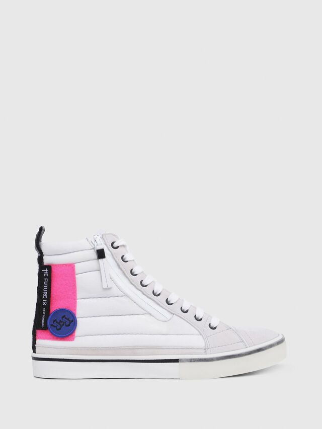 Diesel - D-VELOWS MID PATCH W, Blanc - Baskets - Image 1