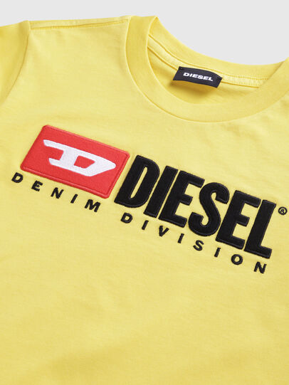 Diesel - TJUSTDIVISION, Jaune - T-shirts et Hauts - Image 3