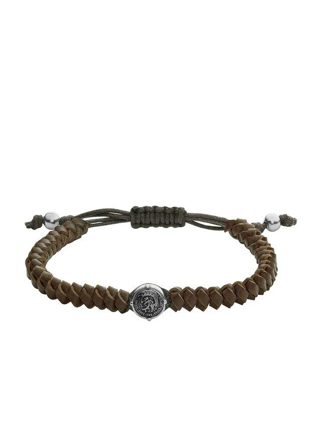 Diesel - BRACELET DX1046, Vert Olive - Bracelets - Image 1