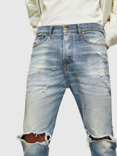 Diesel - D-Vider 0097J, Bleu Clair - Jeans - Image 3