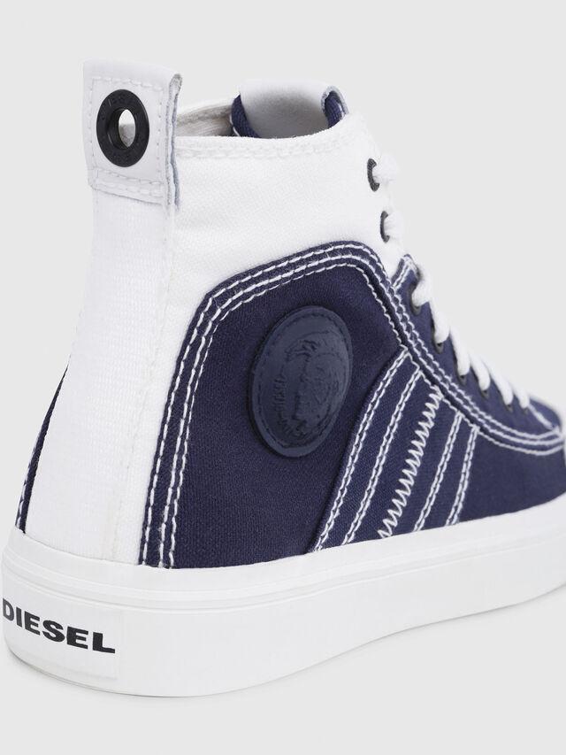 Diesel - S-ASTICO MID LACE W, Bleu/Blanc - Baskets - Image 4