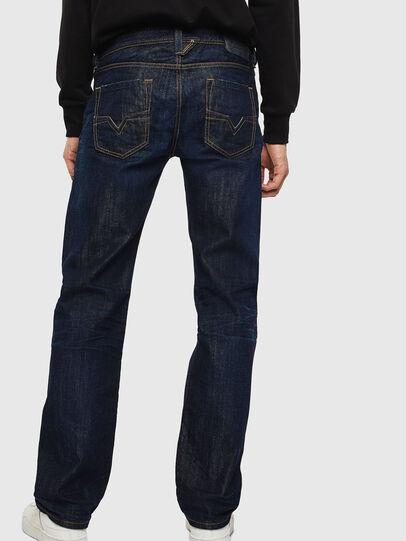 Diesel - Larkee 0806W, Bleu Foncé - Jeans - Image 2