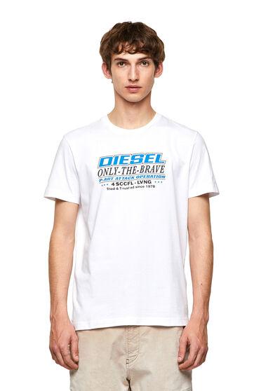 T-shirt Green Label avec imprimé brillant