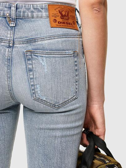 Diesel - Slandy High 009TG, Bleu Clair - Jeans - Image 4
