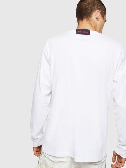 Diesel - LCP-T-JUST-LS-DENVER, Blanc - T-Shirts - Image 3