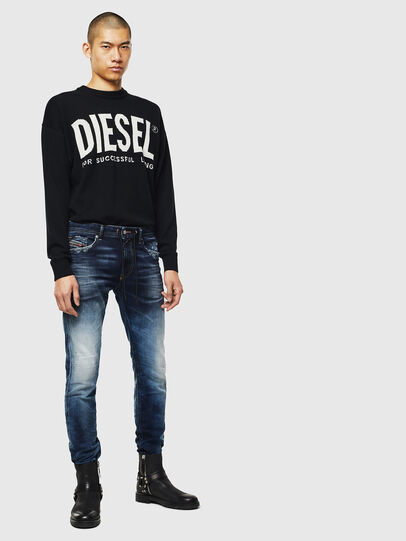 Diesel - Thommer JoggJeans 069KD, Bleu Foncé - Jeans - Image 5