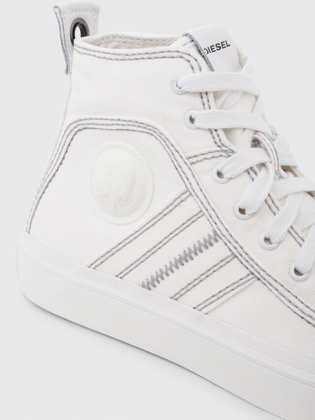 Diesel - S-ASTICO MID LACE W, Blanc - Baskets - Image 4