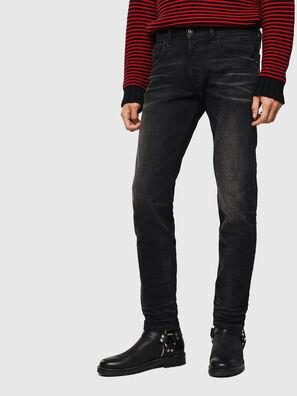 D-Bazer 0098B, Noir/Gris foncé - Jeans