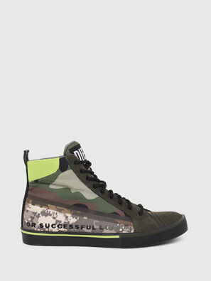 S-DVELOWS MID, Vert Camouflage - Baskets