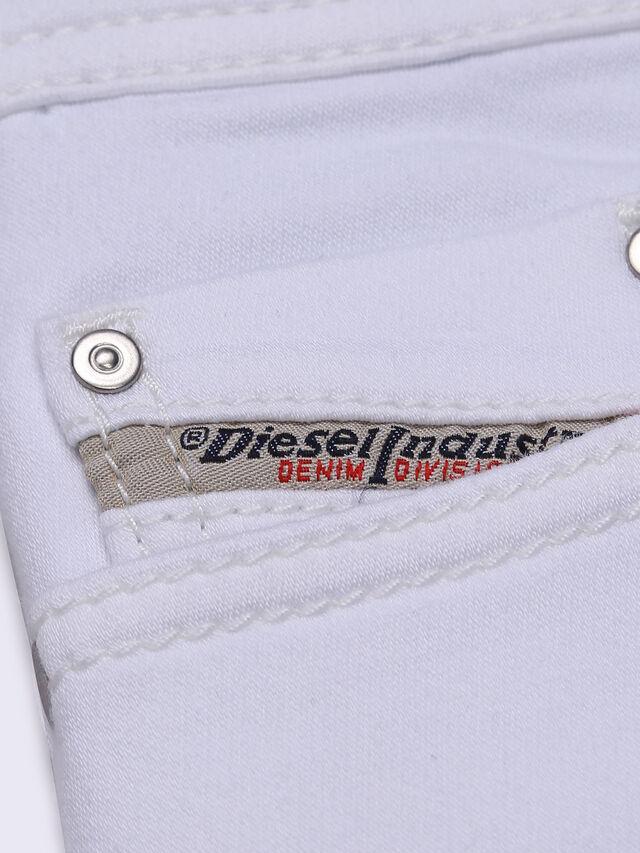 Diesel - TEPPHAR-J-N JOGGJEANS, Jean Blanc - Jeans - Image 4