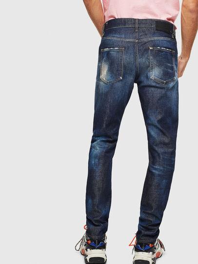 Diesel - D-Strukt 009BH, Bleu Foncé - Jeans - Image 2