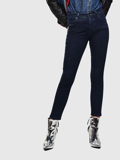 Diesel - Babhila 0096R, Bleu Foncé - Jeans - Image 1