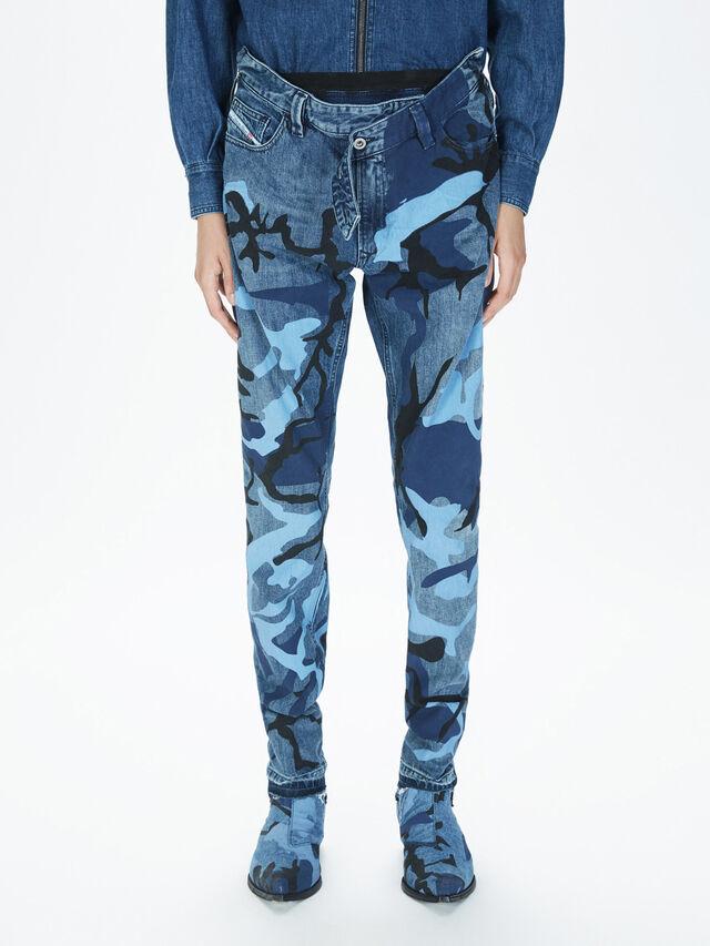Diesel - SOPKN01, Bleu Chiné - Jeans - Image 3