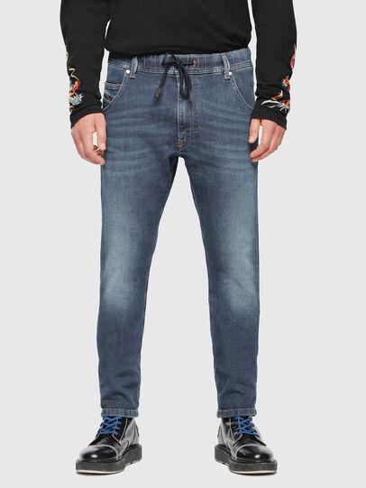 Diesel - Krooley JoggJeans 084UB, Bleu moyen - Jeans - Image 3