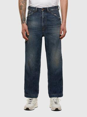 D-Franky 009EW, Bleu Foncé - Jeans