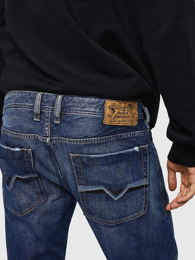 Diesel - Zatiny 008XR, Bleu Foncé - Jeans - Image 4