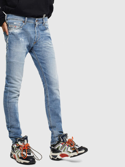 Diesel - Tepphar 009BU, Bleu Clair - Jeans - Image 4