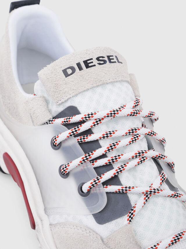 Diesel - S-KIPPER LOW LACE, Blanc - Baskets - Image 4