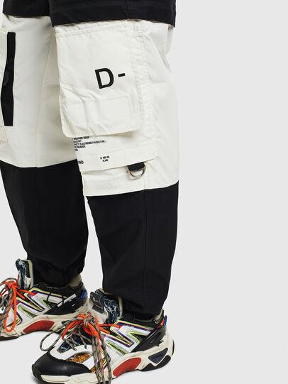 Diesel - P-MELTY, Noir/Blanc - Pantalons - Image 5