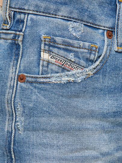 Diesel - D-Joy 009EU, Bleu Clair - Jeans - Image 4