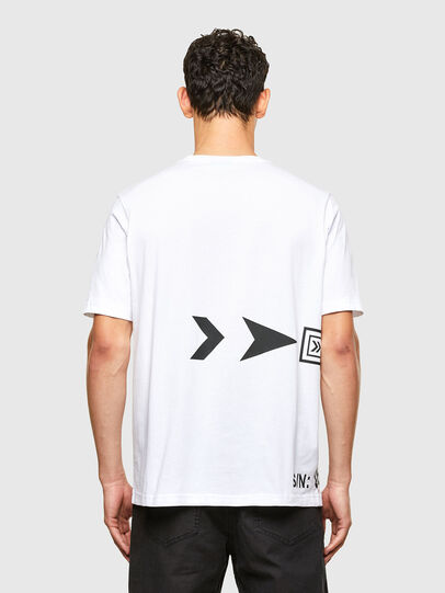 Diesel - T-JUST-A42, Blanc - T-Shirts - Image 2