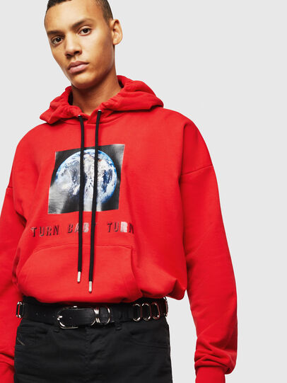Diesel - S-ALBY-YA, Rouge - Pull Cotton - Image 5
