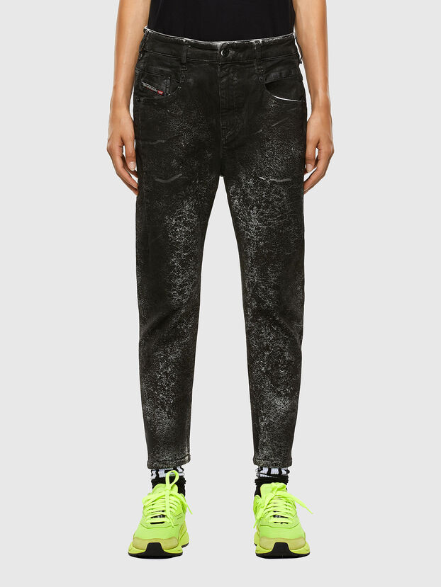 Fayza 009DL, Noir/Gris foncé - Jeans