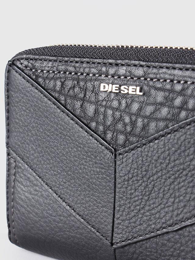Diesel - JADDAA, Cuir Noir - Petits Portefeuilles - Image 3