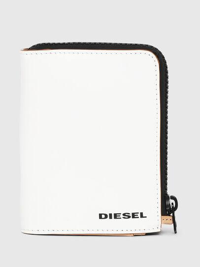 Diesel - L-12 ZIP, Blanc - Petits Portefeuilles - Image 1