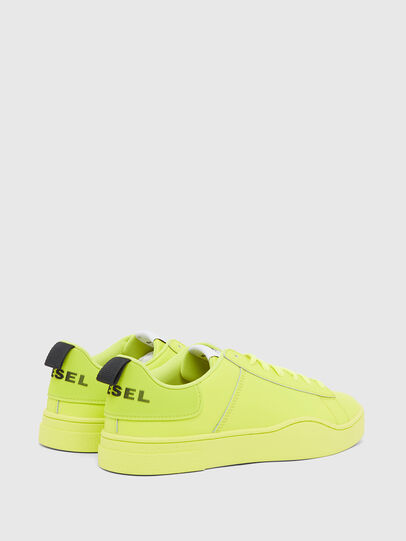 Diesel - S-CLEVER LOW LACE, Jaune - Baskets - Image 3