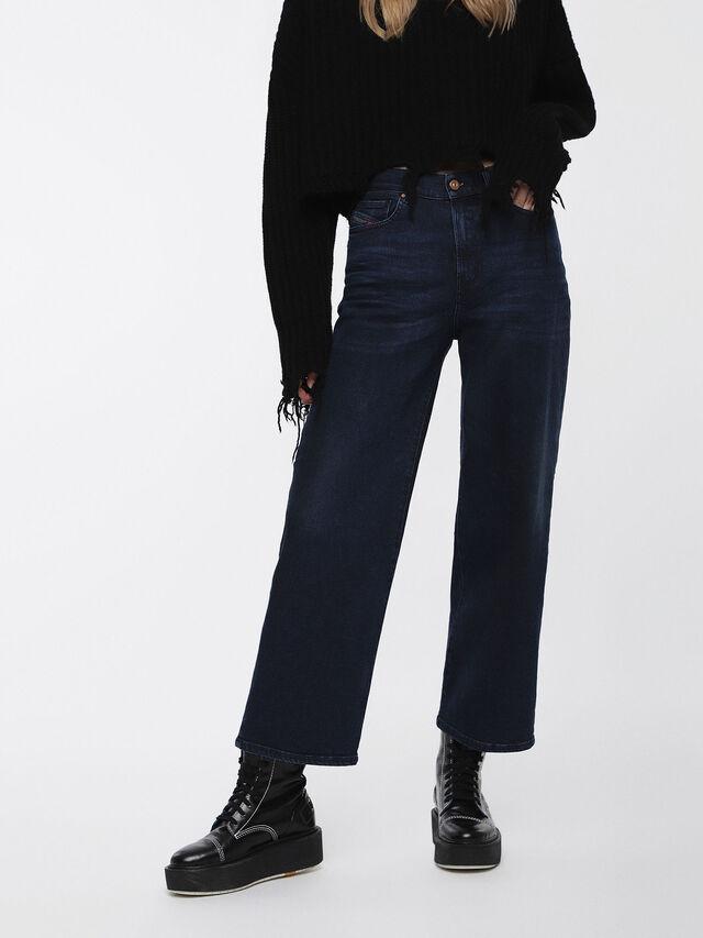 Diesel - Widee 084ZC, Bleu Foncé - Jeans - Image 1