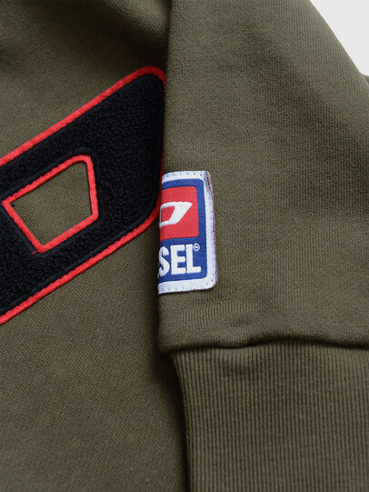 Diesel - SCREWDIVISIONB-D, Vert Militaire - Pull Cotton - Image 3