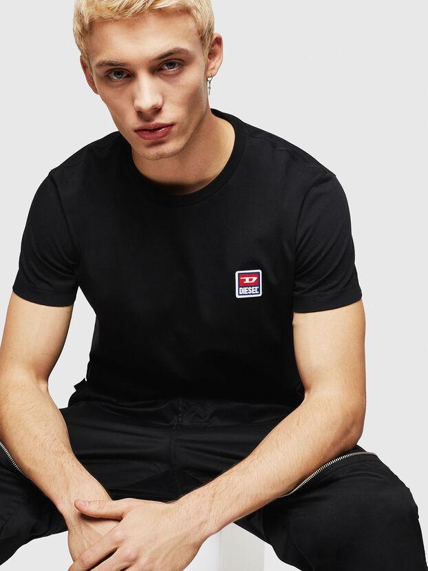 T-DIEGO-DIV, Noir - T-Shirts