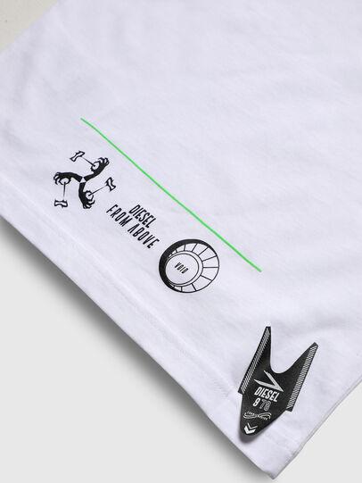 Diesel - TJUSTLS-NEW, Blanc - T-shirts et Hauts - Image 5