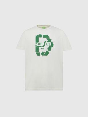 T-DIEGOS-N23, Blanc - T-Shirts