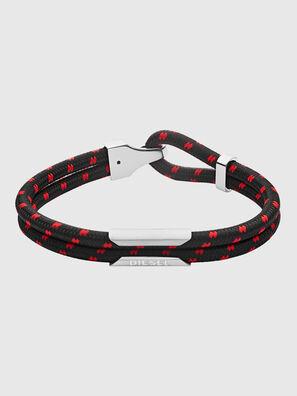 DX1235, Noir/Rouge - Bracelets