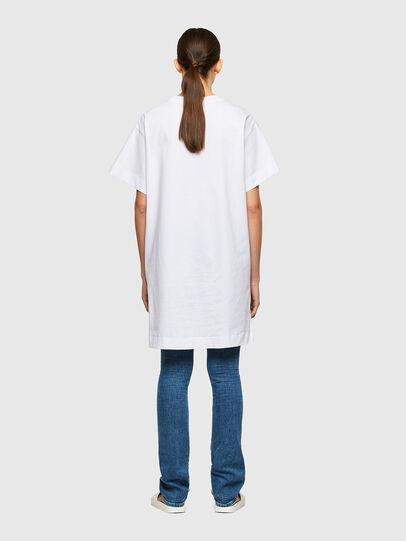 Diesel - D-BOWI-SMALLOGO, Blanc - Robes - Image 2