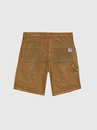 Diesel - P-TRENT-SHORT, Marron Clair - Shorts - Image 2